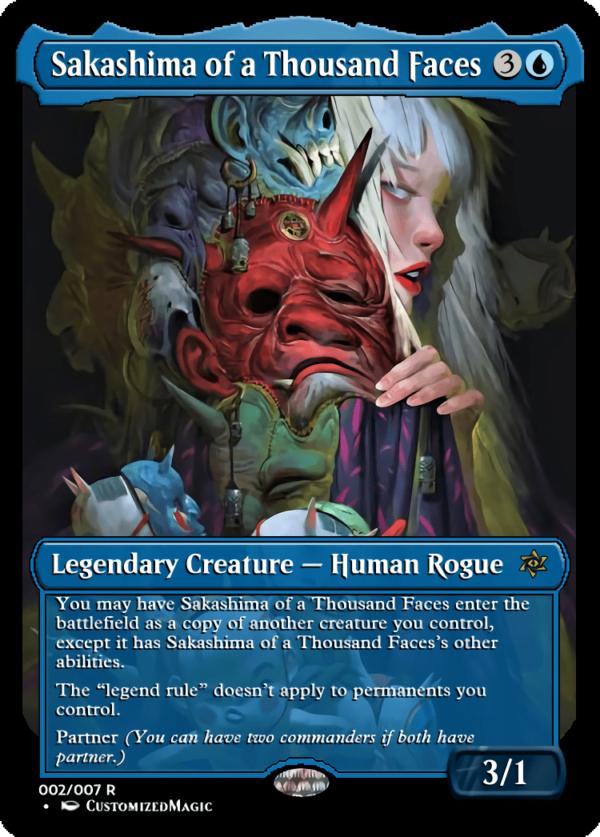 Sakashima of a Thousand Faces.1 - Magic the Gathering Proxy Cards
