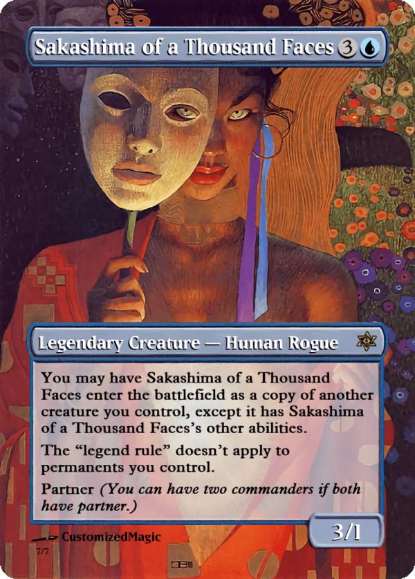 Sakashima of a Thousand Faces.3 - Magic the Gathering Proxy Cards