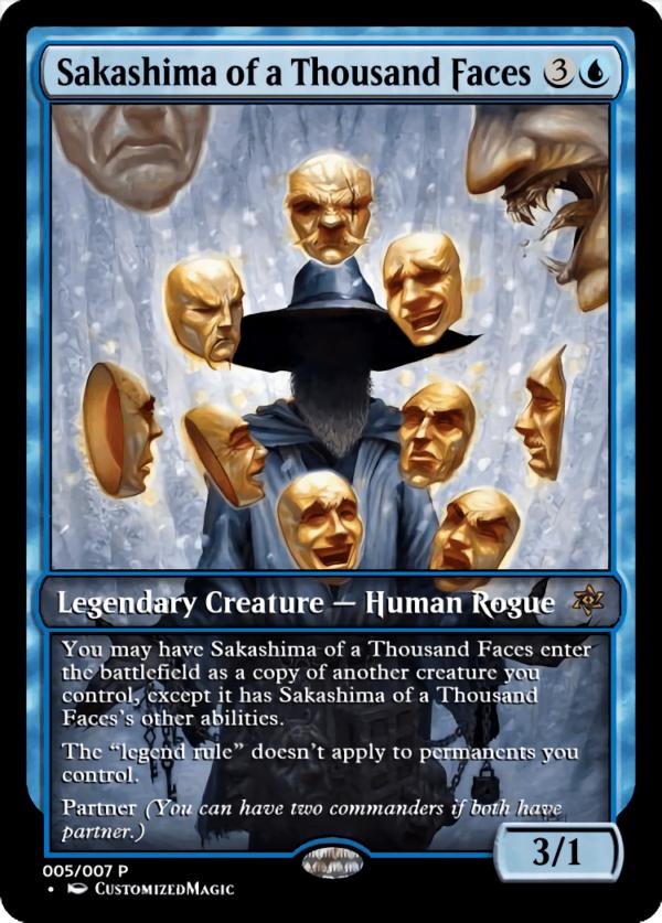 Sakashima of a Thousand Faces.5 - Magic the Gathering Proxy Cards
