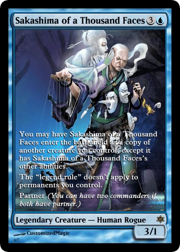 Sakashima of a Thousand Faces.6 - Magic the Gathering Proxy Cards