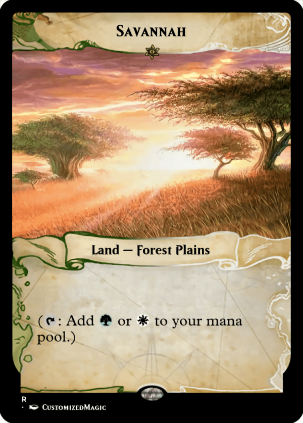Savannah - Magic the Gathering Proxy Cards