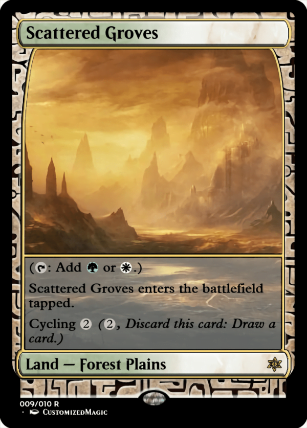 Scattered Groves - Magic the Gathering Proxy Cards