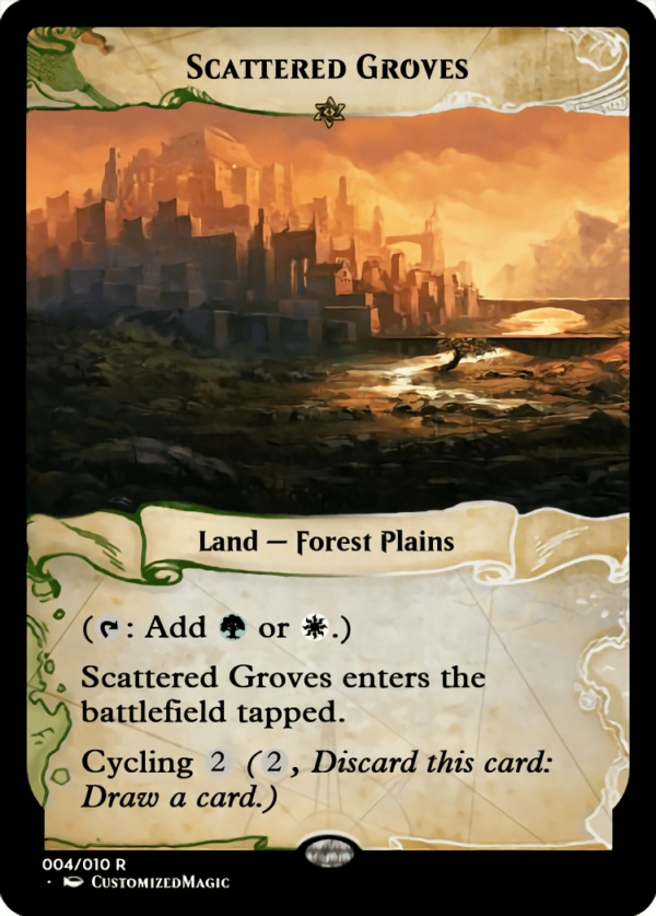 Scattered Groves.1 - Magic the Gathering Proxy Cards