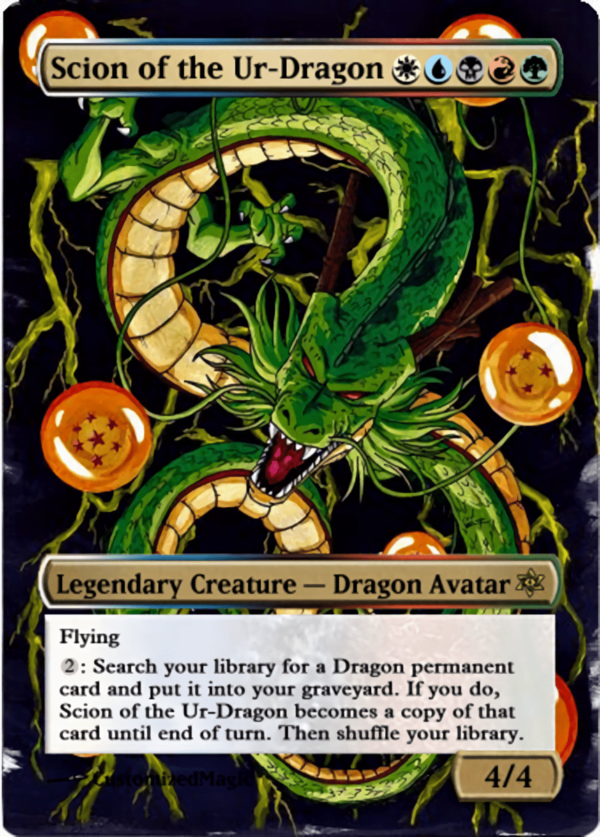 Scion of the Ur Dragon.11 - Magic the Gathering Proxy Cards