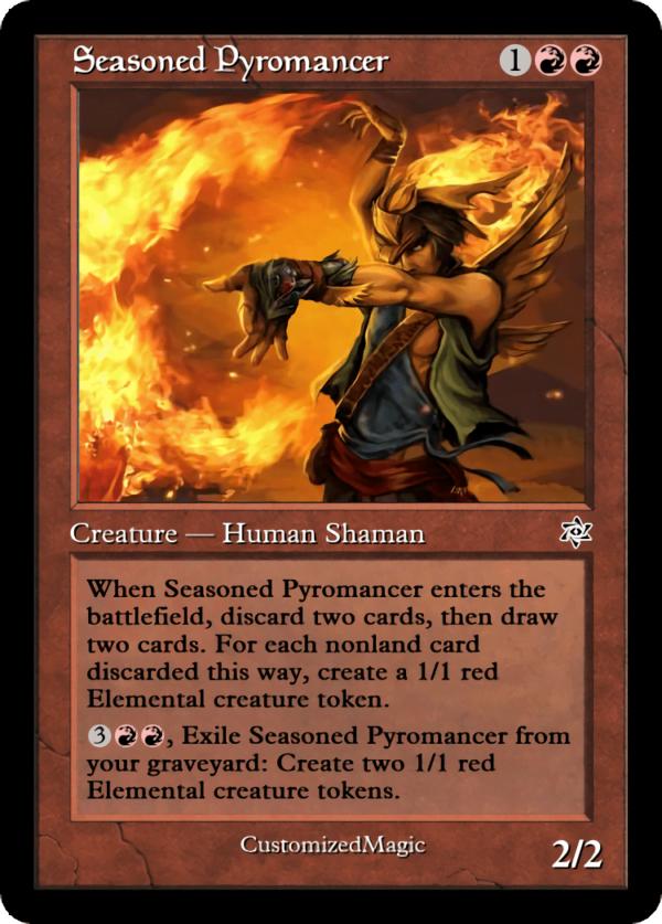 Seasoned Pyromancer.2 - Magic the Gathering Proxy Cards