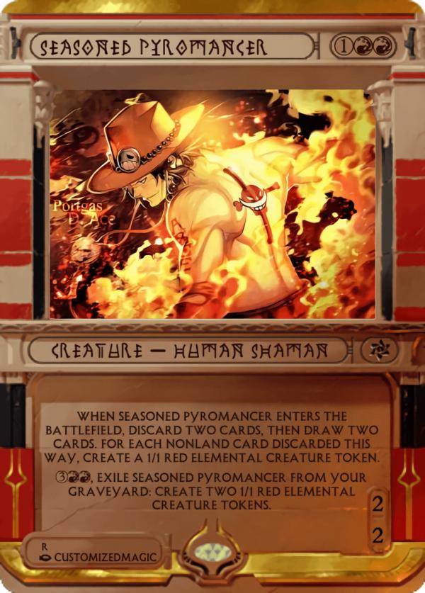 Seasoned Pyromancer.6 - Magic the Gathering Proxy Cards