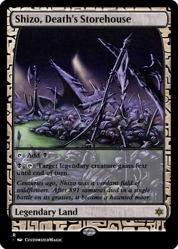 Shizo Deaths Storehouse 22 - Magic the Gathering Proxy Cards