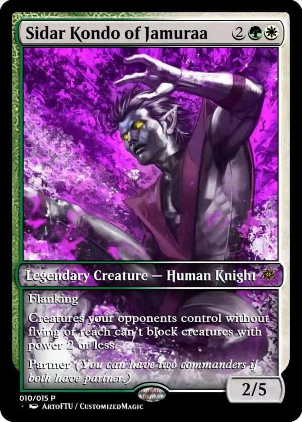 Sidar Kondo of Jamuraa - Magic the Gathering Proxy Cards