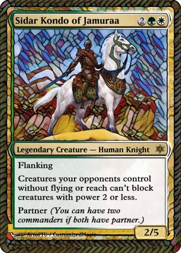 Sidar Kondo of - Magic the Gathering Proxy Cards