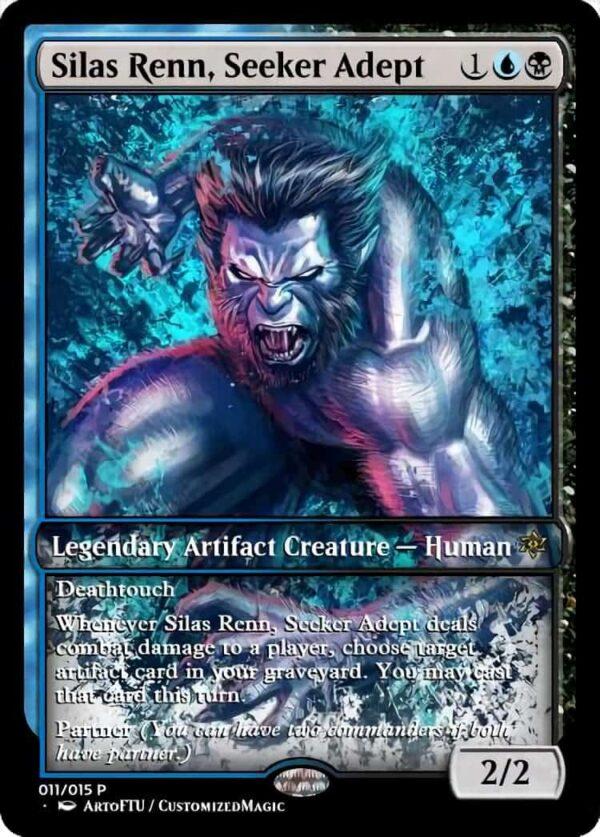 Silas Renn Seeker Adept - Magic the Gathering Proxy Cards