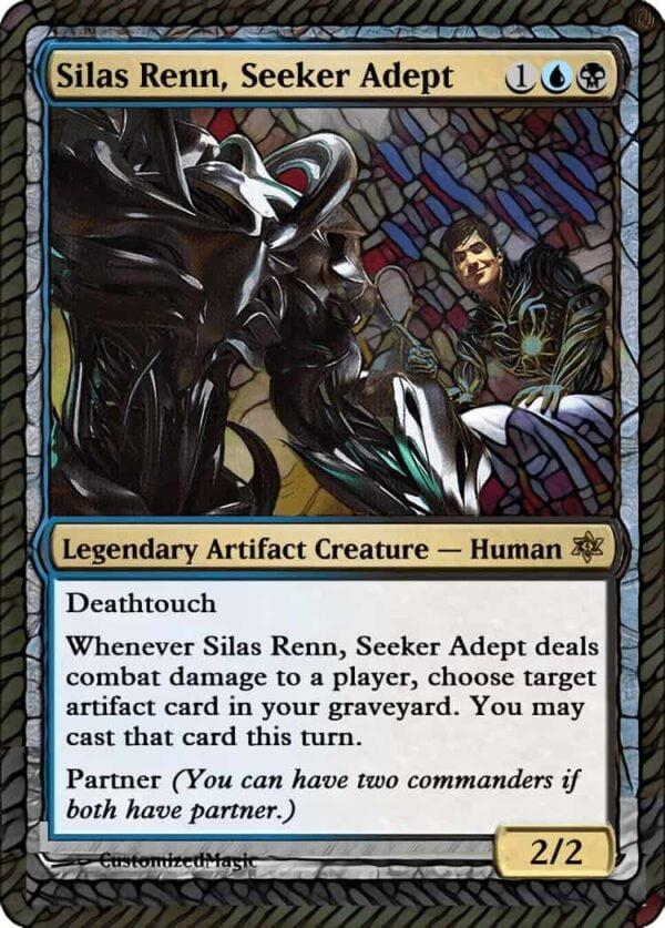 Silas Renn Seeker - Magic the Gathering Proxy Cards