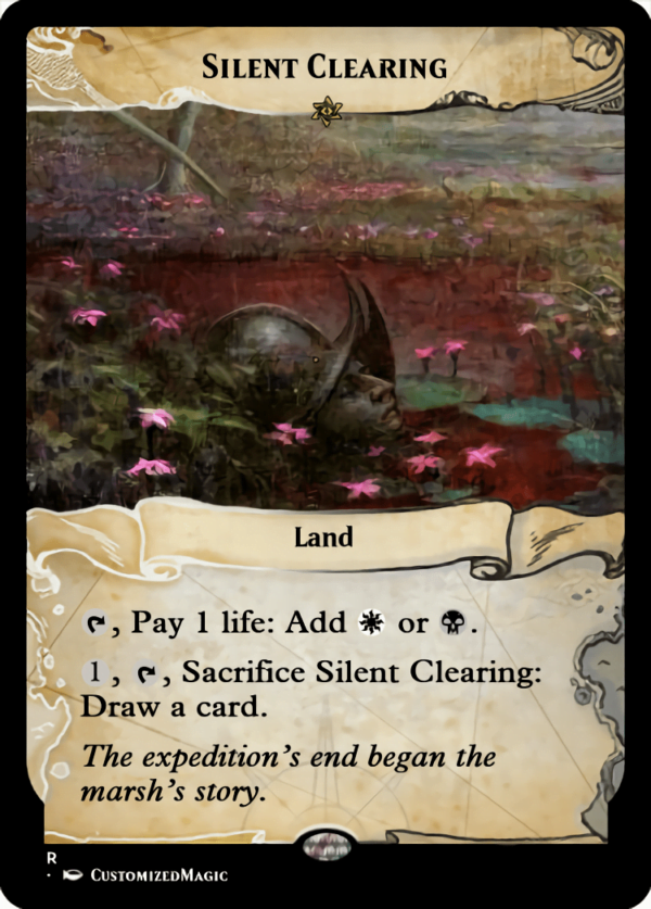Silent Clearing - Magic the Gathering Proxy Cards