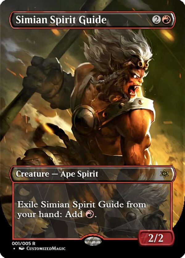 Simian Spirit Guide - Magic the Gathering Proxy Cards