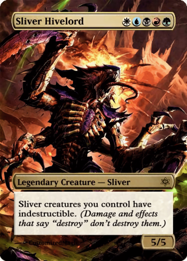 Sliver Hivelord 2 - Magic the Gathering Proxy Cards