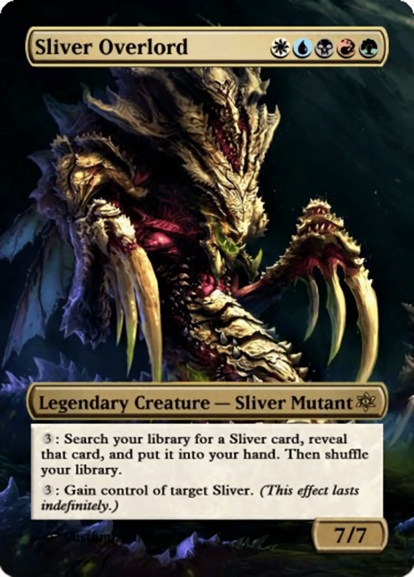 Sliver Overlord 1 - Magic the Gathering Proxy Cards