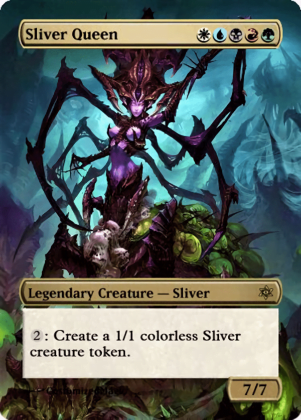 Sliver Queen 2 - Magic the Gathering Proxy Cards
