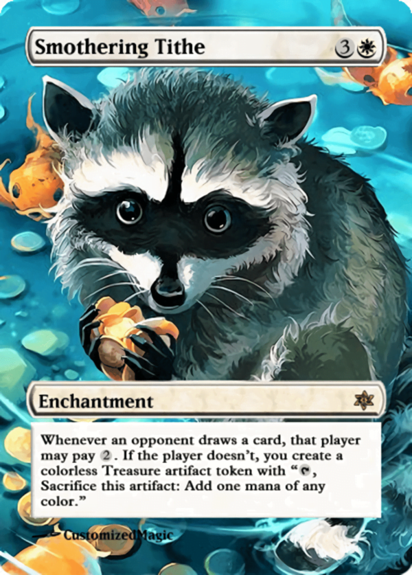 Smothering Tithe.11 - Magic the Gathering Proxy Cards