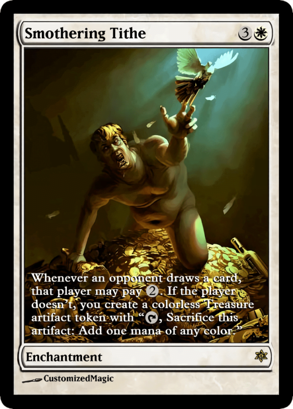 Smothering Tithe.3 - Magic the Gathering Proxy Cards