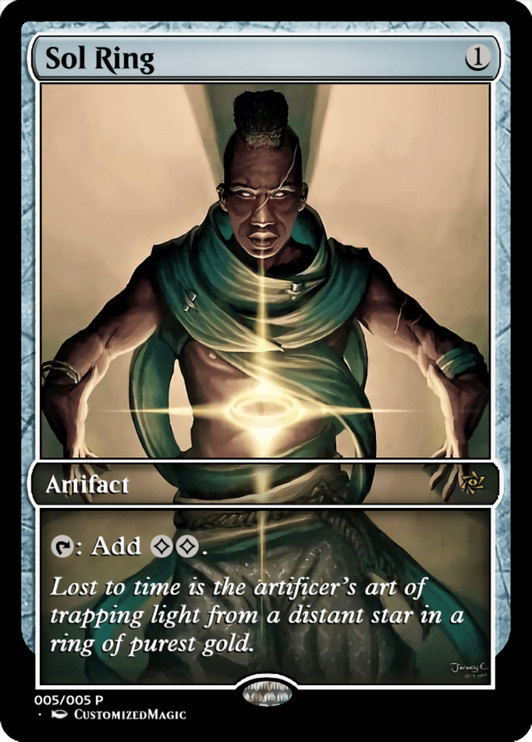 Sol Ring 5 - Magic the Gathering Proxy Cards