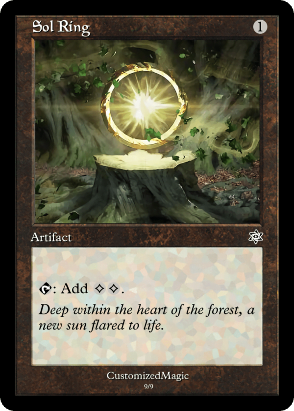 Sol Ring - Magic the Gathering Proxy Cards