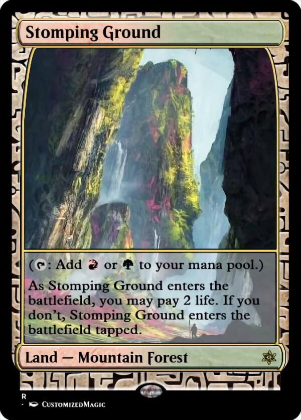 Stomping Ground - Magic the Gathering Proxy Cards