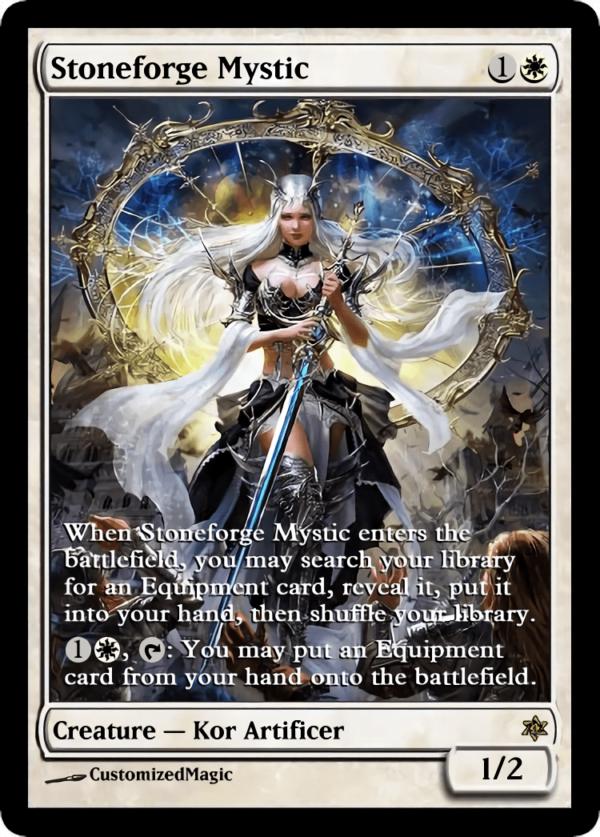 Stoneforge Mystic.2 - Magic the Gathering Proxy Cards