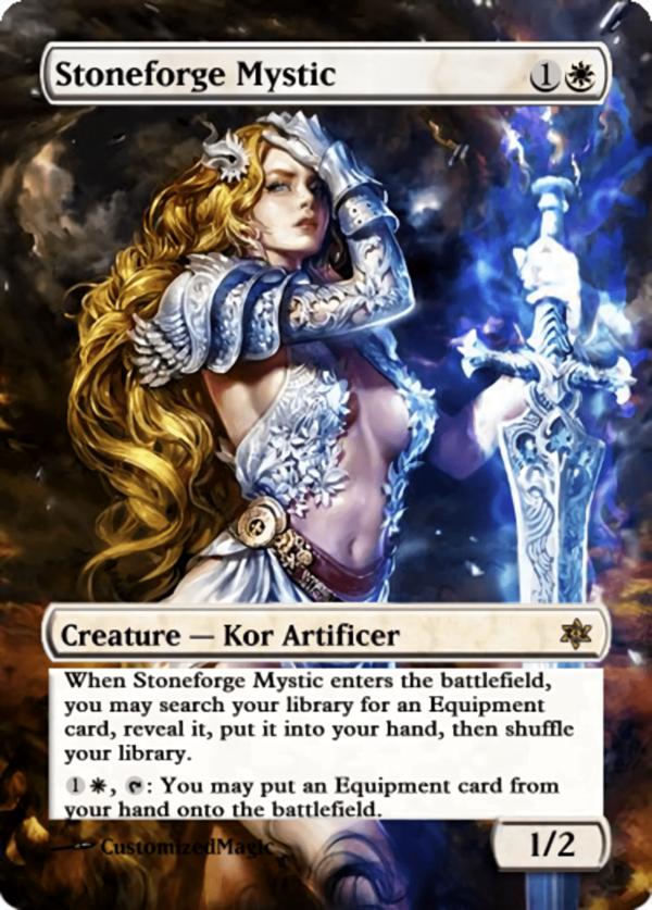 Stoneforge Mystic11 - Magic the Gathering Proxy Cards
