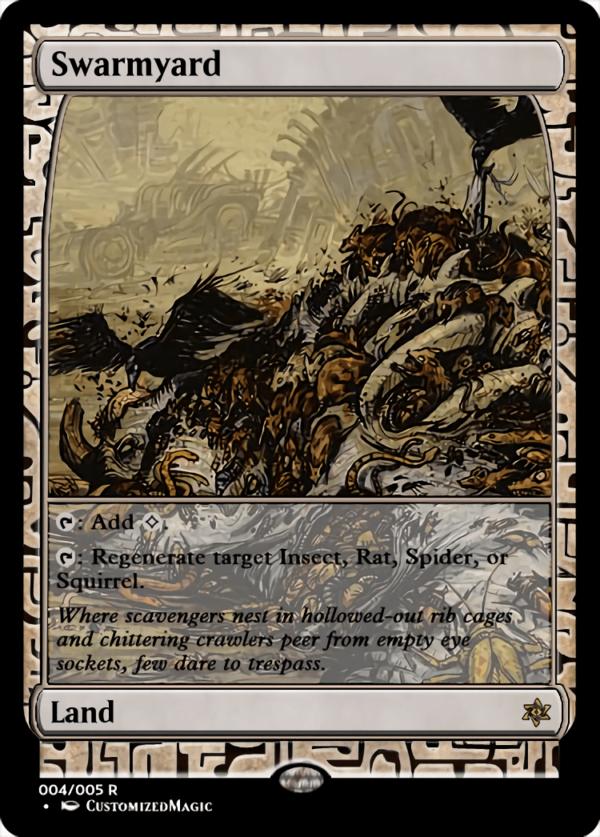Swarmyard.2 - Magic the Gathering Proxy Cards