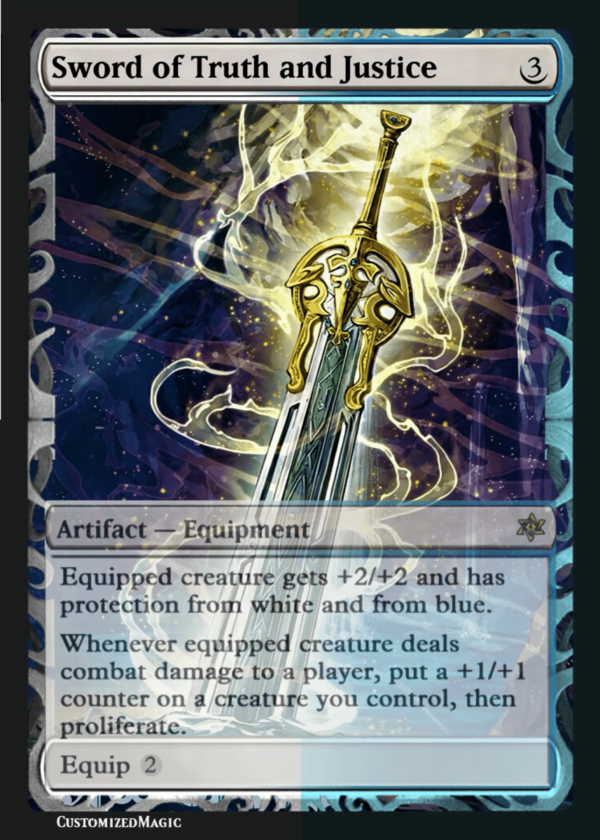 Sword of Truth and Justice - Magic the Gathering Proxy Cards