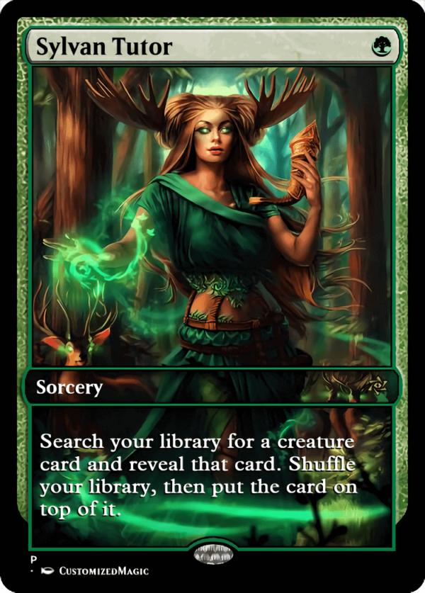 Sylvan Tutor.2 - Magic the Gathering Proxy Cards