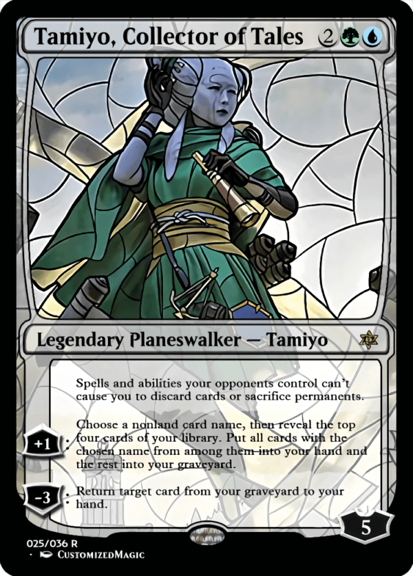 Tamiyo Collector of Tales 1 - Magic the Gathering Proxy Cards