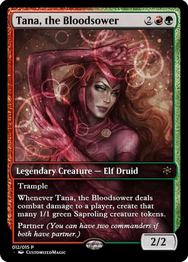 Tana the Bloodsower - Magic the Gathering Proxy Cards
