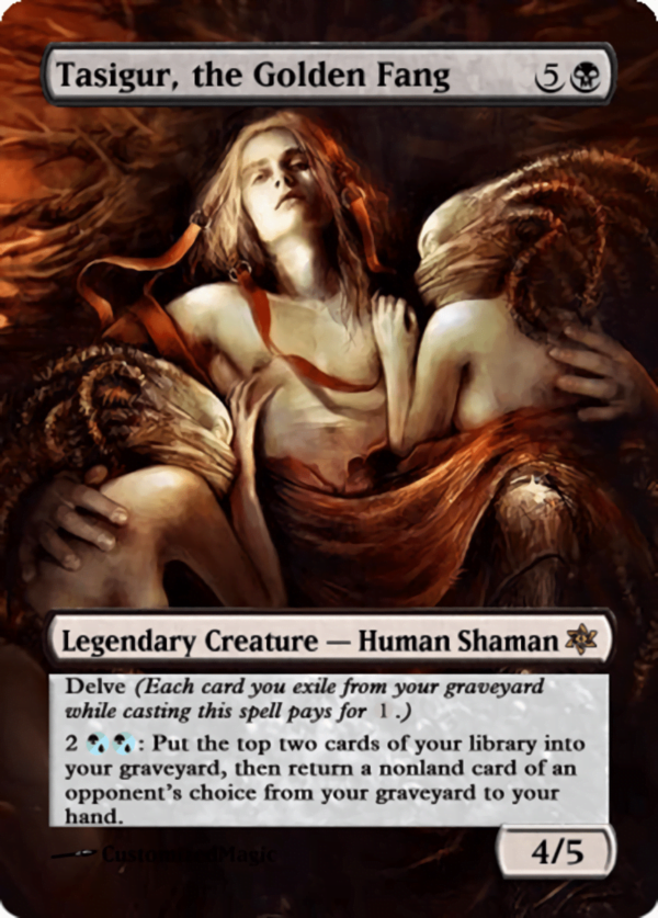 Tasigur the Golden Fang.11 - Magic the Gathering Proxy Cards