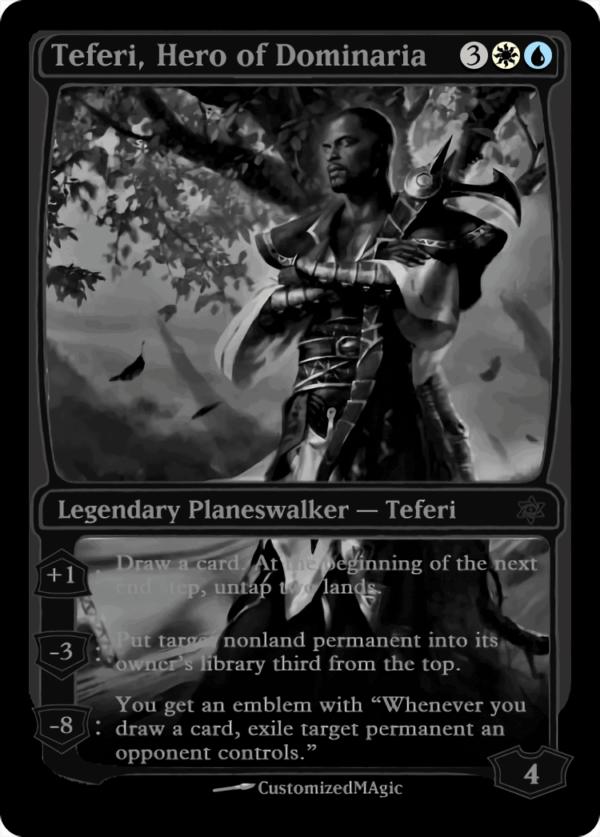 Teferi Hero of Dominaria - Magic the Gathering Proxy Cards