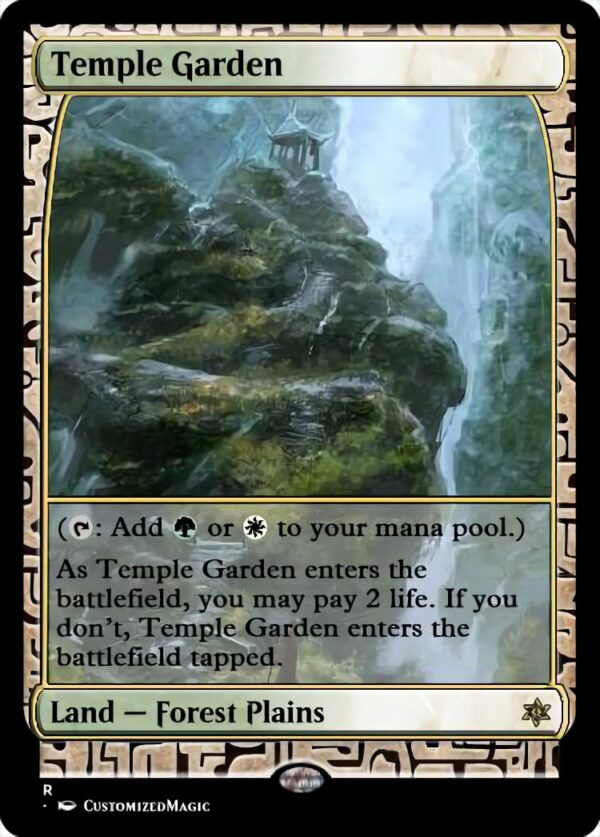 Temple Garden - Magic the Gathering Proxy Cards
