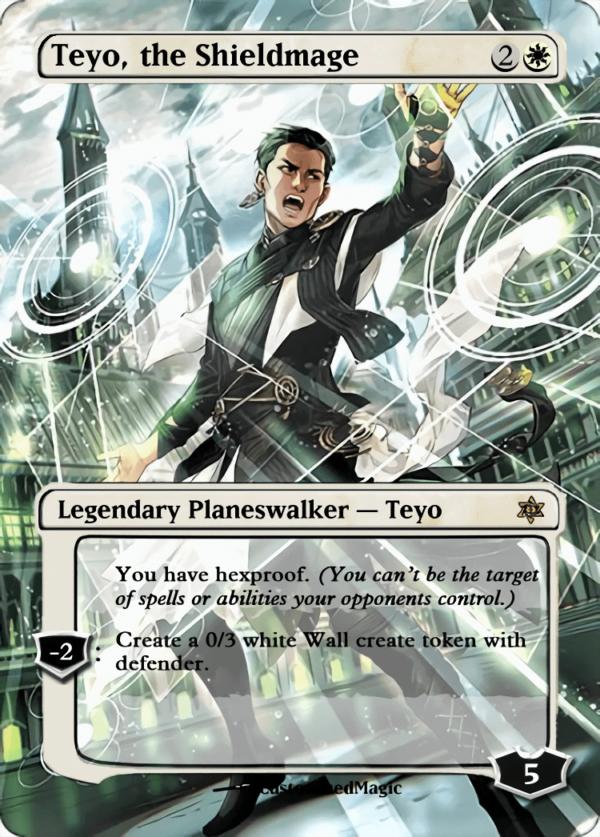 Teyo the Shieldmage - Magic the Gathering Proxy Cards