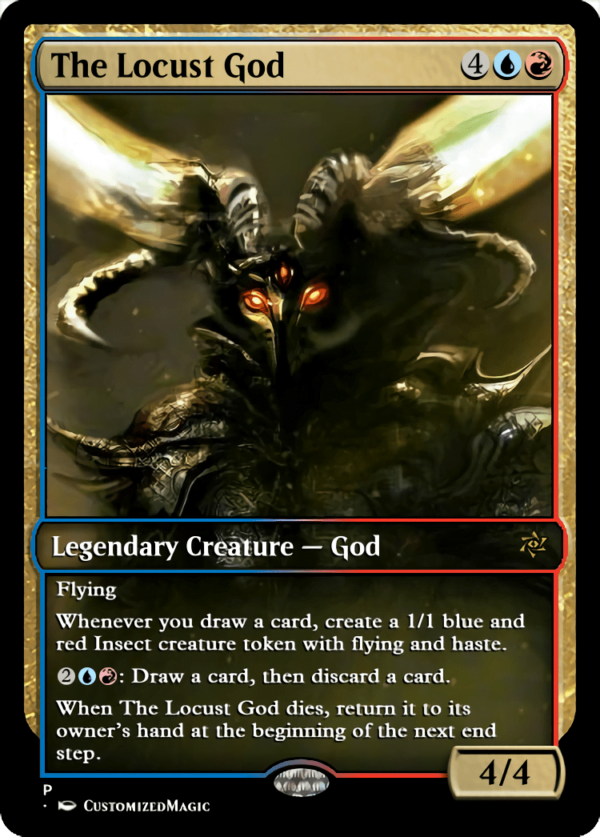 The Locust God.2 - Magic the Gathering Proxy Cards