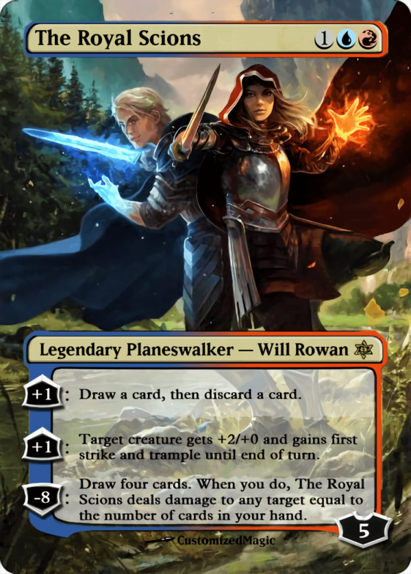 The Royal Scions - Magic the Gathering Proxy Cards