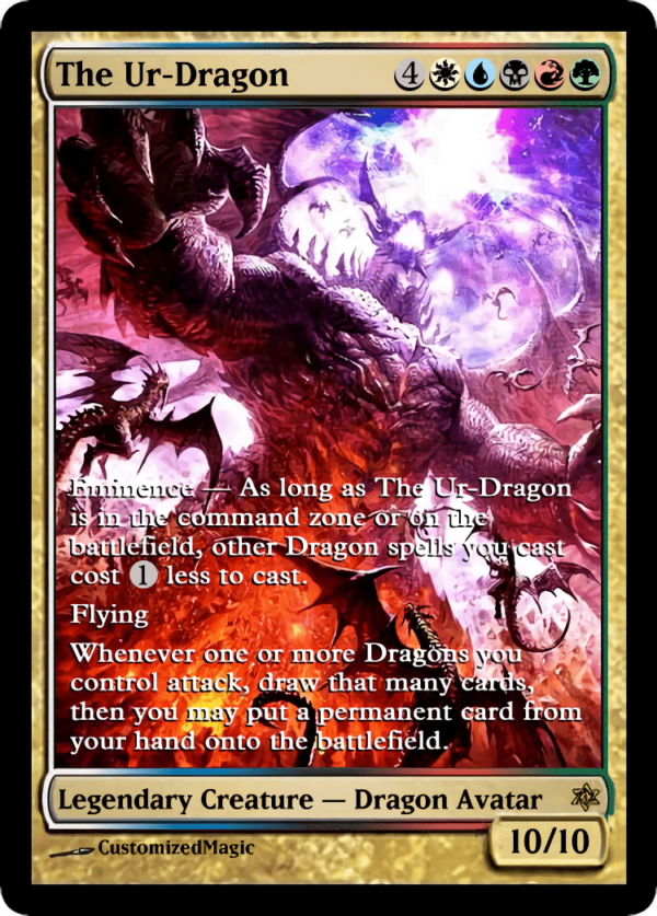 The Ur Dragon.1 - Magic the Gathering Proxy Cards