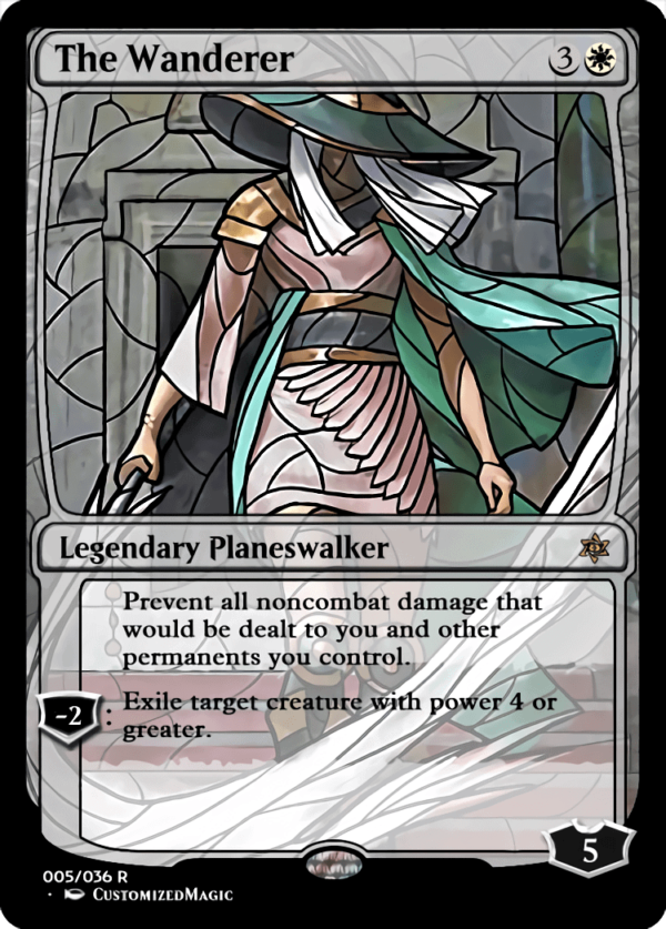 The Wanderer 1 - Magic the Gathering Proxy Cards