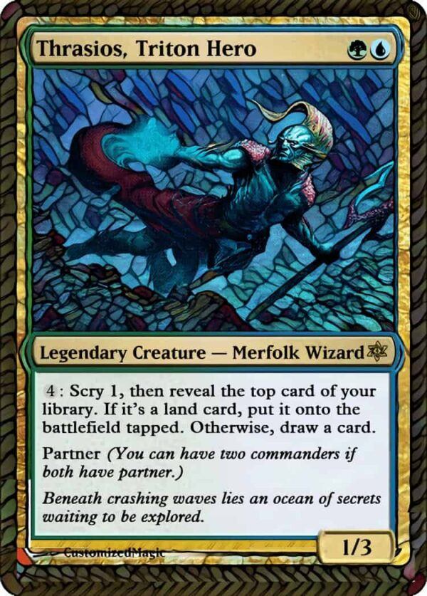 Thrasios Triton - Magic the Gathering Proxy Cards