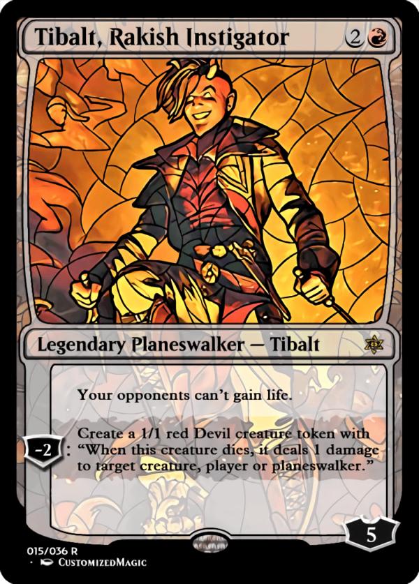 Tibalt Rakish Instigator 1 - Magic the Gathering Proxy Cards