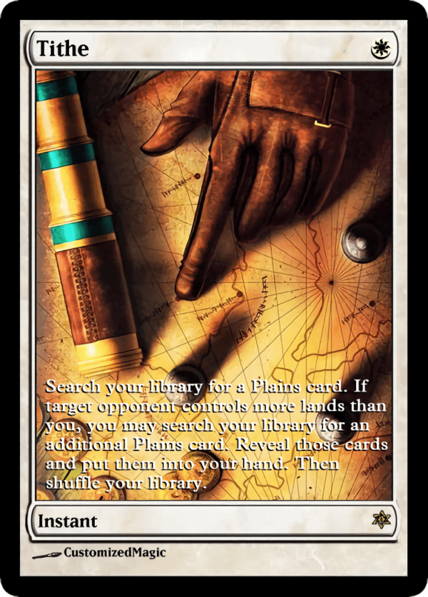 Tithe.3 - Magic the Gathering Proxy Cards