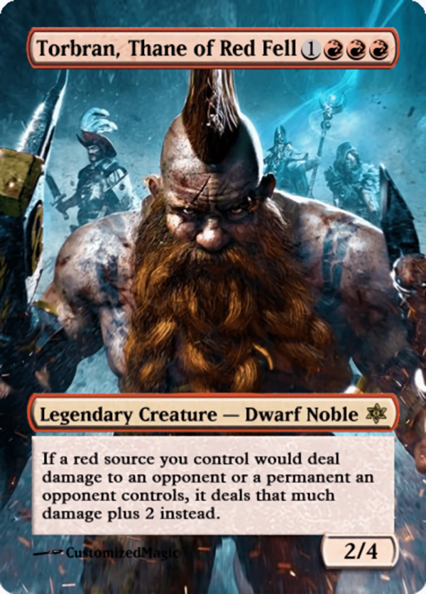 Torbran Thane of Red Fell.11 - Magic the Gathering Proxy Cards