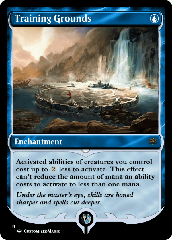 Training Grounds - Magic the Gathering Proxy Cards