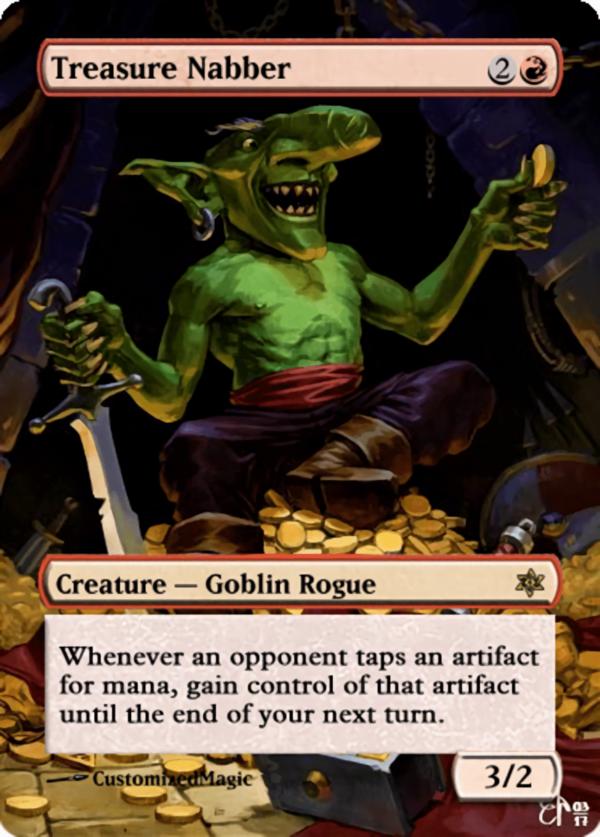 Treasure Nabber.11 - Magic the Gathering Proxy Cards