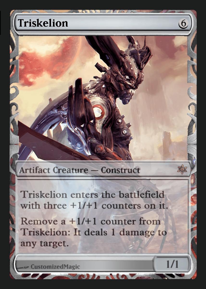 Details about  /Triskelion Trading Card GENERIC Custom Alternate Extended Art