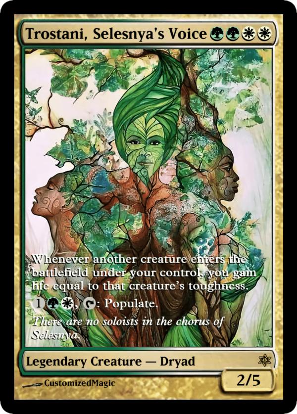 Trostani Selesnyas Voice.2 - Magic the Gathering Proxy Cards