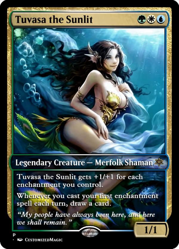 Tuvasa the Sunlit.3 - Magic the Gathering Proxy Cards