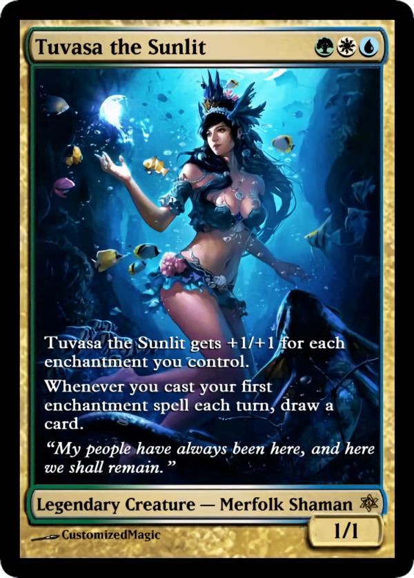 Tuvasa the Sunlit.4 - Magic the Gathering Proxy Cards